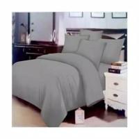 Zetline-Bed Cover Polos Emboss Warna Abu-Abu Uk Single Size 120x200