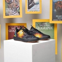 Sepatu Pria | Vans X National Geographic Ultrarange Exo Black Yellow