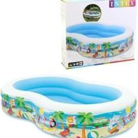 Kolam Renang Keluarga / Kolam Renang Jumbo intex paradise pool 56490