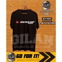 Kaos Baju Dunlop Tyres Ban Logo Balap Mobil Motor Kaos Otomotif