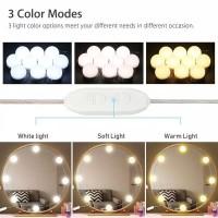 Vanity Mirror LED Light Lampu Bohlam Cermin Meja Rias Murah