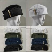 Kopeah peci topi kupluk Taliban pin Kujang allsize dewasa BEA-TL KJ