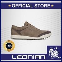 Ecco M Golf Street Retro Coffe Brich Golf Shoes / Sepatu Golf