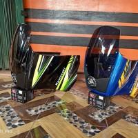 TERMURAH Fairing Ninja RS model KR150 SSR plus lampu PROJIE