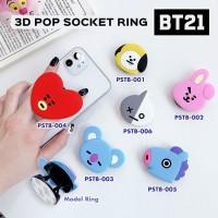 BT21 BTS KPOP - Pop Socket Ring 3D/ Pop Socket/ Phone Holder/ Stand HP