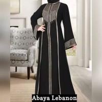 ABAYA IMPORT WANITA ARAB/DUBAI ORIGINAL S-XL Y10