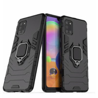 Samsung A31 - Luxury Hard case Armor KickStand with i-ring