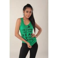 Baju Olahraga Tanktop Wanita Yoga Murah M008|Kaos Yoga Tank Top Cewe