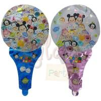 Balon Foil Karakter Gagang Pentung Disney Tsum Tsum