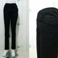 Celana jeans wanita pinggang karet