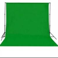 Backdrop / Background Foto Studio, Green Screen