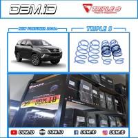 Per Lowering Kit Triple-S Toyota New Fortuner