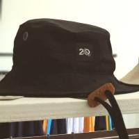 Badger Invaders POWEL BLACK CAMPER HAT