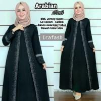 Baju Gamis arabian turkey maxi matt jersey