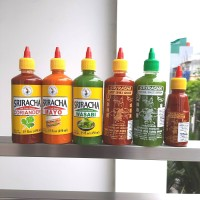 [IMPOR THAILAND] nangfah sriracha hot chili sauce 450 ml saos sambal