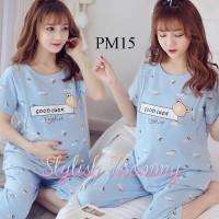 Piyama Baju Tidur Hamil dan Menyusui PM15