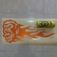 APE FLAME CUSTOM BIG SIZE decal & cutting sticker mobil & motor