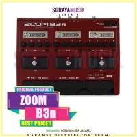 ZOOM B3N Bass Multistomp Effect