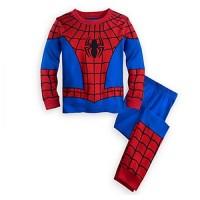 Piyama Spiderman Anak Laki-Laki 2 - 8 Tahun Baju Tidur Import PMI-2211