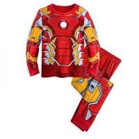 Piyama Iron Man Anak Laki-Laki 2 - 8 Tahun Baju Tidur Import PMI-2211