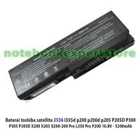 Baterai Laptop Toshiba PA 3536, SAT A50, L350, L355, P300, P200,