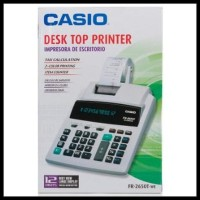 SALE Casio FR-2650T - Printing Kalkulator Calculator Struk Kertas