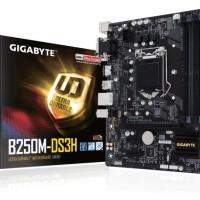 Gigabyte GA-B250M-DS3H Intel & 40 LGA1151 B250 DDR4& 41