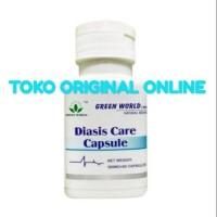 Diasis Care Capsule Green World/Hipertensi/Stroke/Darah Tinggi Murah