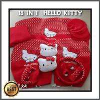 i - Sarung Jok Mobil Hello Kitty Agya Ayla Karimun Jazz Yaris Swift