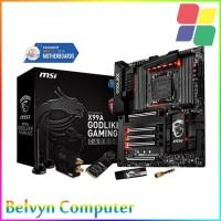 MSI X99A GODLIKE GAMING CARBON LGA2011 v3 X99 DDR4