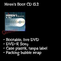 DVD Hirens Boot CD 15.2 grab it fast