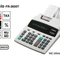 Grosir - CASIO FR-2650T KALKULATOR PRINTING tools