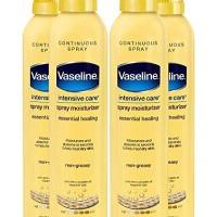 Vaseline Spray and Go Moisturizer in Total Moisture, 6.5 Ounce (Pack o