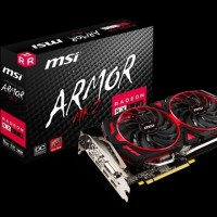 MSI Radeon RX 570 8GB DDR5 Armor MK2 8G OC