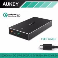Unik Aukey Quick Charge Qualcomm 3 0 Powerbank PB T10 20000mAh