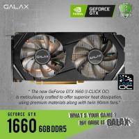 GALAX GEForce GTX 1060 6GB DDR5 1-Click OC DUAL FAN Garansi 2 Tahun