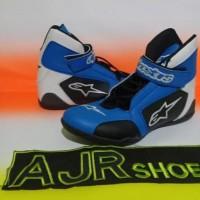 Obral sepatu drag alpinestar k3 biru