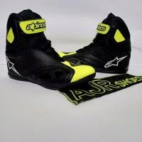 Terlaris sepatu drag alpinestar k-pro stabilo hitam