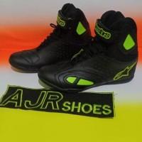 Termurah Sepatu drag-touring Alpinestar k-pro hitam polos bordir