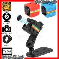 Mini DV SQ11 Spy Camera BISA KONEK TV Full HD 1080P Kamera Pengintai