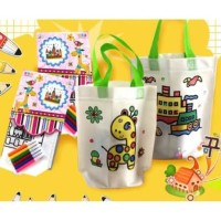 DIY mewarnai tas - Mainan edukasi anak - Art activity - Montessori