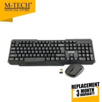 Keyboard Mouse Wireless M-Tech STK-04