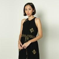 Black Halter Prada Dress - M