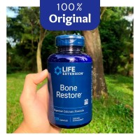 Life Extension Bone Restore 120 Capsules - Menjaga Kepadatan Tulang