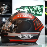 Helm INK CL MAX REPAINT Shoei 93 Mark Marques pull & bear