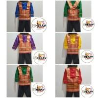 Baju adat / Pakaian adat/Busana adat Aceh anak Laki/Perempuan Size XXL