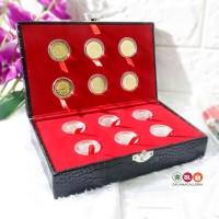 Kotak Mahar Dinar Dirham / Box Koin Dinar dan Dirham - 12 Koin