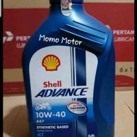 Oli Motor Shell AX7 08lt 10w40