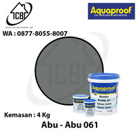 AQUAPROOF - 1 GALON 4 KG [ KHUSUS GO-SEND DAN GRAB] - Abu-Abu 061