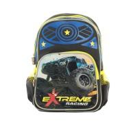 Elizabeth Extreme Racing Mini School Backpack Black